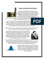 History of Normal Distribution.docx