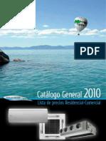 Catalogo TOSHIBA RESIDENCIAL 2010