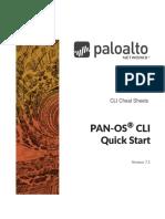 Palo Alto CLi Cheat Sheet