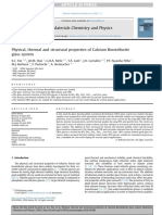 Materials Chemistry and Physics Volume 178 issue 2016 [doi 10.1016%2Fj.matchemphys.2016.04.080] Paz, E.C.; Dias, J.D.M.; Melo, G.H.A.; Lodi, T.A.; Carvalho, J.O -- Physical, thermal and structural pro