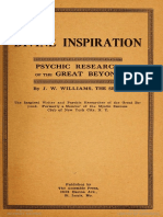 Divine inspiration _ psychic r - Williams, J. W. (John West), b_24284