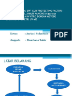 PENENTUAN NILAI SPF (SUN PROTECTING FACTOR).pptx