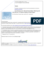 Business Analytics for Streamlined Assort Packing and