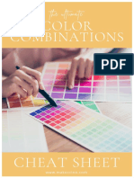 Ultimate Color Combination Cheat Sheet