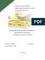 Tehnologii de Procesare si Controlul Produselor Animaliere Controlul Calitatii Untului.docx