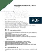 Pola Latihan Power Hypertrophy Adaptive Training (PHAT) by Layne Norton