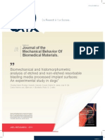 Histomorphometric Analysis 1