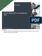 Presentation - Frame Construction in Concrete Steel