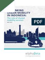 AplhaBeta - Rethinking Urban Mobility In Indonesia