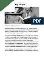 Liberalismo y utopía | elcato.org