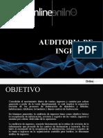 Auditoria de Ingresos Con Plantilla