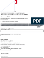 Anchor rod HAS-E-8.8 M27x240_60 - Hilti India