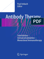 Paul Imbach - Antibody Therapy-Springer International Publishing (2018)