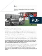 Football history.docx