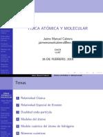 Presentacion Nueva de Atomica y Molecular 1