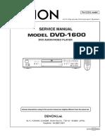 DENON  DVD1600
