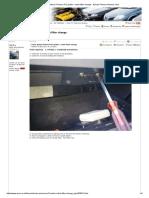 Nissan Primera P12 - Pollen filter change