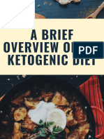 A Brief Overview of the Ketogenic Diet