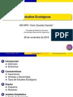 Estudios Ecologicos