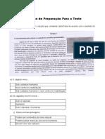 Portugues - teste 1