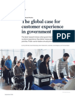 The Global Case for Customer Experience in Government