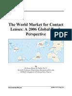Contact Lenses 2006