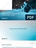 TOOLS 4 BIM DOCK installation and activation guide 2015-05