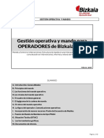 Gestion Operativa y Mando  Operadores 2019