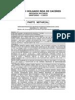 1073-2015 - CONSTITUCION DE EIRL - INVERSIONES QANTU COLOR (PARTES)
