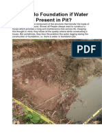 How to do Foundation if Water is Present in Pit.docx