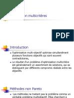 Optimisation multicritères