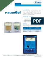 PathoGel brochure