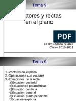 4ESO-A Tema09 Vectores Y Rectas en el Plano