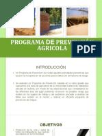 Programa pr agrícola