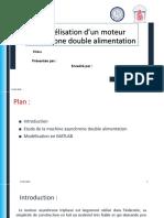 Modélisation d'un moteur asynchrone double alimentation.pptx