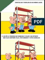 Comic de Seguridad y Salud en El Trabajo