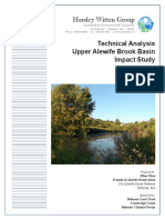 2014-05-26-Horsley-and-Witten-Technical-Analysis-of-Upper-Alewife-Basin