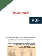 BIOMOLECULES PPT