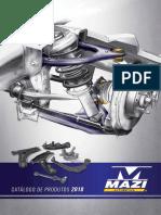 Mazi Automotiva Catalogo Suspensão 2018