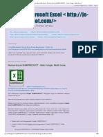 Belajar Microsoft Excel_ Rumus Excel SUMPRODUCT - Satu Fungsi, Multi Guna_