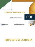 REFORMA TRIBUTARIA 2017 - CCPL