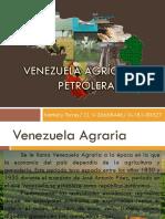 Venezuela agrícola y petrolera.pptx