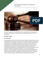 El rol de la víctima en el proceso penal con especial referencia al nuevo CPPF (1)