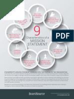 9-Characteristics-Mission-Statement