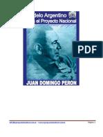 El Modelo Argentino para el Proyecto Nacional