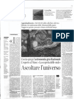 Ascoltare l'universo Corriere Trentino