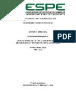 APLICACIONES DE LA CATÁLISIS HOMOGÉNEA, HETEROGÉNEA Y ENZIMÁTICA EN LA INDUSTRIA