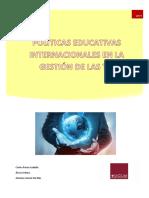 Politicas Internacionales en El Uso de Las TIC