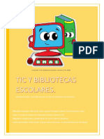 Tic y Bibliotecas Escolares. Alba Durán, María Justiniano e Ignacio Paniagua (1)