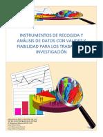 Grupo 13 Instrumentos de Recogida y Análisis de Datos Con Validez y Fiabilidad Para Los Trabajos de Investigación